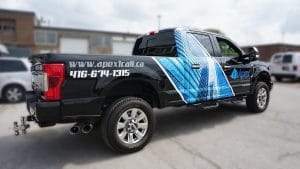 Apex Construction - Decals and Lettering - Toronto - Right Side