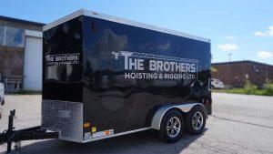 Brothers Hoisting - Trailer - Driver Side
