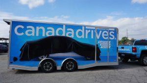 Full Trailer Wrap - Canada Drives Vehicle Wrap