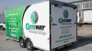 Gateway - Trailer Wrap - Back Driver Side Angle