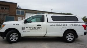 Magcor - Car Decals and Lettering - Vinyl Wrap Toronto - Driver Side