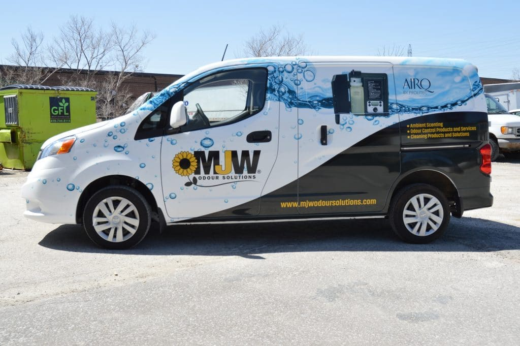 Metro Jet Wash Isuzu Truck – Full Vehicle Wrap - Vinyl Wrap Toronto - Nissan - Branding Centres