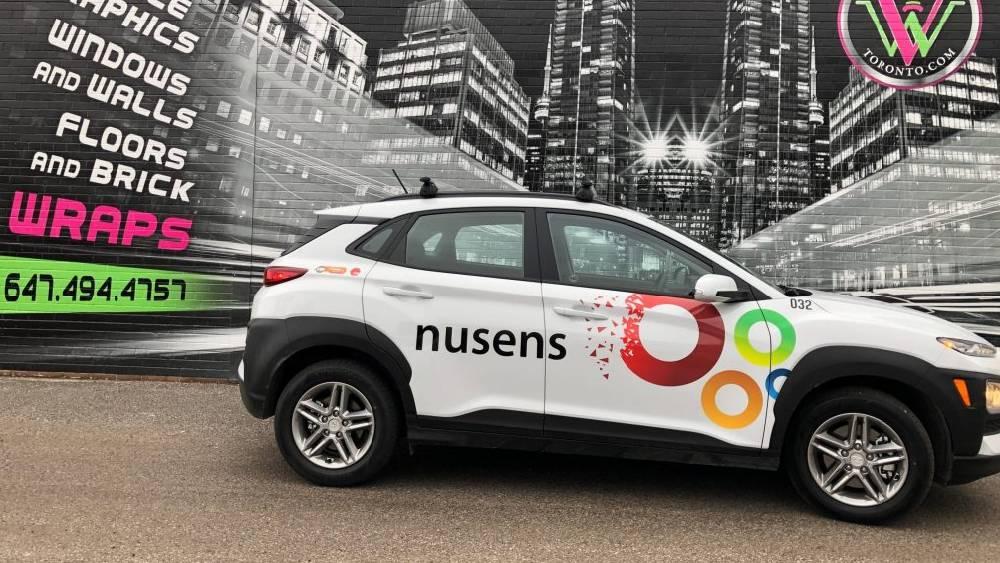 Nusens - SUV decals