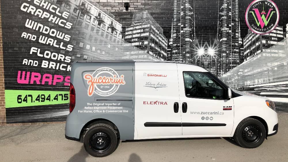 Zuccarini - Partial Van Wrap