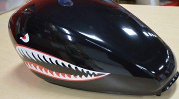 Vinyl Wrap Toronto - Vehicle Wrap In Toronto - Print Shop - Bike Tank Wrapped with custom design