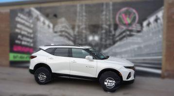 Chevy Blazer 2019 - Full Vehicle Wrap - Colour Change - University of Waterloo - VinylWrapToronto.com - Vinyl Wrap Toronto - After - Side