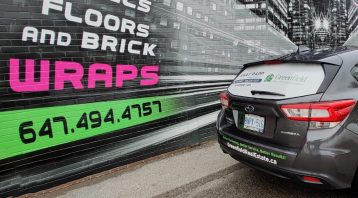 Vinyl Wrap Toronto - Vehicle Wrap In Toronto - Print Shop - Decals Subaru GTA