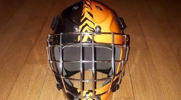 Goalie Mask Wrap | Vinyl Wrap Toronto - Vehicle Wrap In Toronto - Print Shop