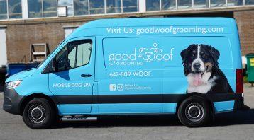 Good Woof - Full - Vinyl Wrap Toronto - Van Wrap - Vehicle Wrap In GTA