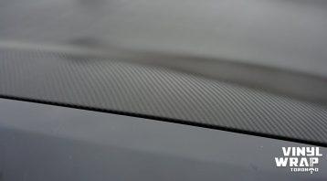 Infiniti FX50 - Partial Wrap - Carbon Fibre - Vinyl Wrap Toronto - Closeup - 3 - Lettering & Decals - Avery Dennison & 3M - Van Wrap in Etobicoke