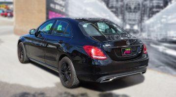 Mercedes C300 - Chrome Delete - VinylWrapToronto.com - Lettering & Decals - Avery Dennison & 3M - Back Side