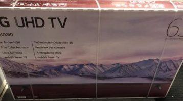 Vinyl Wrap Toronto - Vehicle Wrap In Toronto - Print Shop - Nusens TV Before - Equipment Wrap