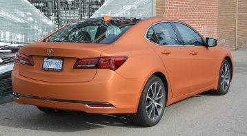 Vinyl Wrap Toronto - Vehicle Wrap In Toronto - Print Shop - Orange Full Car Wrap