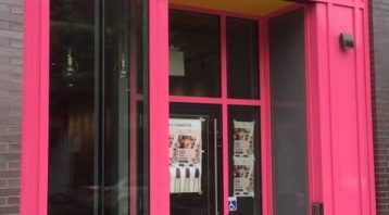 Storefront Signage Toronto - Pink Vinyl Side | Vinyl Wrap Toronto - Vehicle Wrap In Toronto - Print Shop