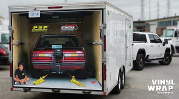 Trailer Wrap - Carmate 2019 - Partial - Personal - Vinyl Wrap Toronto - Vehicle Wrap in Mississauga