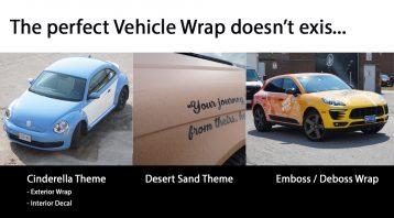 Vinyl Wrap Torontos Secret to a perfect Car wrap - VinylWrapToronto.com - Perfect Car wrap doesnt exis - Meme - Porsche Macan - Audi - Volkswagen Beetle