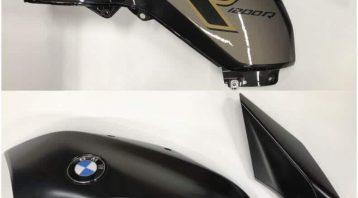 Vinyl Wrap Toronto BMW Bike R1200 Left Side