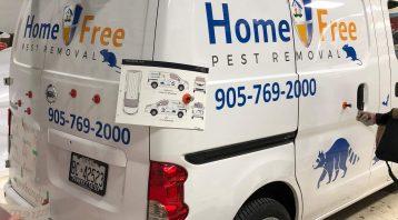 Vinyl Wrap Toronto Nissan NV200 2018 Avery Dennison White Van Decal Home Free (2) Installation - Van Decals